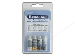 craft & hobbies: Beadalon Crimp Tubes Value Pack Size 3 500 pc.