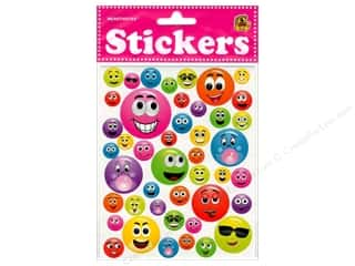 Heartnotes Sticker Smile Faces Bubble Assorted