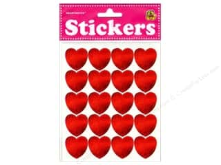 scrapbooking & paper crafts: Heartnotes Sticker Hearts Red