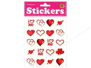 Heartnotes Sticker Hearts Clear