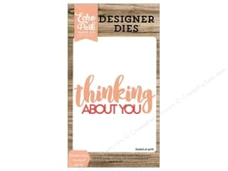 Clearance: Echo Park Die Set Word Thinking About You
