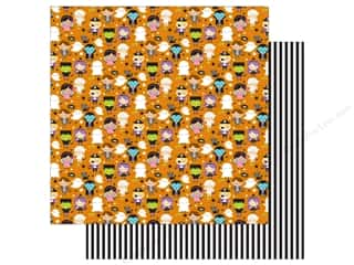"Doodlebug Booville Paper 12""x 12"" Trick Or Treat (25 pieces)"