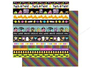 """Doodlebug Booville Paper 12""""x 12"""" Spellbound (25 pieces)"""