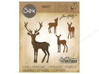 die cutting machines: Sizzix Dies Tim Holtz Thinlits Winter Wonderland