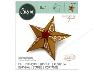 die cutting machines: Sizzix Dies Katelyn Lizardi Bigz 3D Christmas Star