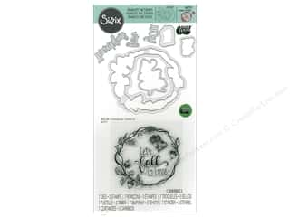 dies: Sizzix Die & Stamp Lindsey Serata Pumpkin Spice Fall In Love