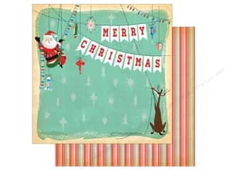 Carta Bella Collection A Very Merry Christmas Paper 12 in. x 12 in. Merry Christmas