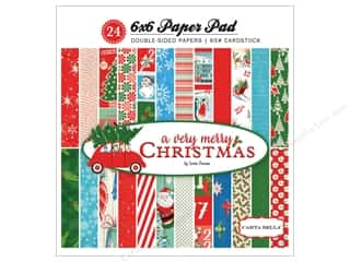 Carta Bella Collection A Very Merry Christmas Paper Pad 6 in. x 6 in.