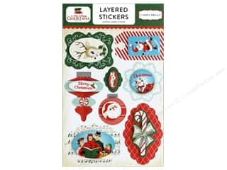 Carta Bella Collection A Very Merry Christmas Sticker Layered