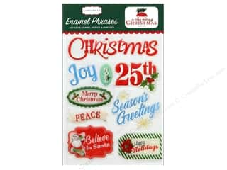 Carta Bella Collection A Very Merry Christmas Enamel Words