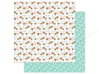 paper straw: Doodlebug Collection Milk & Cookies Paper 12 in. x 12 in. (25 pieces)