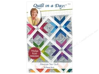 Quilting: Quilt In A Day Mexican Star Quilt Pattern