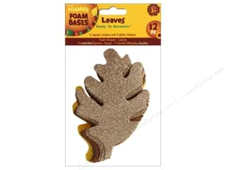 Foamies Foam Fall Leaf Shapes 12 pc.