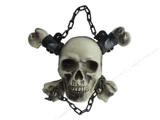 Darice Hanging Chained Skull and Bones