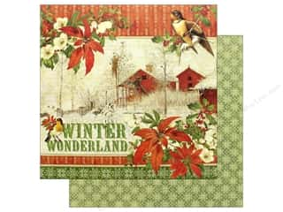 Graphic 45 Winter Wonderland Paper 12 in. x 12 in. (25 pieces)