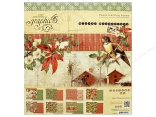 Graphic 45 Winter Wonderland Paper Pad 12 in. x 12 in. Picture