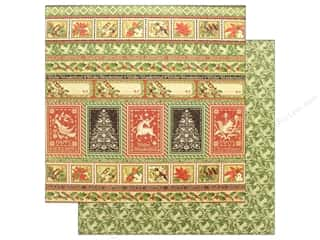 stamps: Graphic 45 Winter Wonderland Paper 12 in. x 12 in.Greeting (25 pieces)