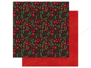 Echo Park A Perfect Christmas Paper 12 in. x 12 in. Berry Merry Christmas (25 pieces)