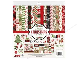Echo Park Collection A Perfect Christmas Collection Kit 12 in. x 12 in.