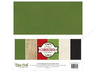 Echo Park Collection A Perfect Christmas Solids Kit