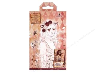 die cuts: Docrafts Santoro Willow Colour Me In Mini Decoupage Pad