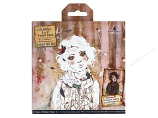 scrapbooking & paper crafts: Docrafts Santoro Willow Colour Me In Paper Pack 6 in. x 6 in.  32 pc