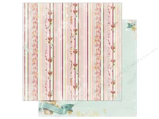christmas paper: Bo Bunny Carousel Christmas Paper 12 in. x 12 in. Jubilee (25 pieces)