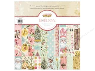 Bo Bunny Carousel Christmas Collection Pack 12 in. x 12 in.