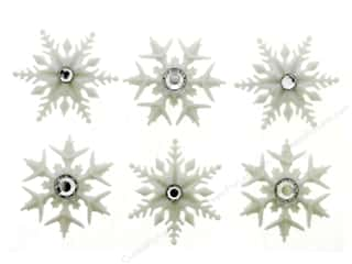 novelties: Jesse James Embellishments - Fancy Snowflakes
