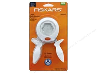 Fiskars Punch Squeeze Large Hexagon