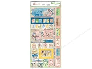 Bo Bunny Collection Serendipity Sticker (12 pieces)