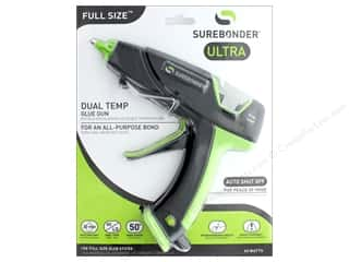 Surebonder Glue Gun Full Size Dual Temp Auto Shut Off 60 watt