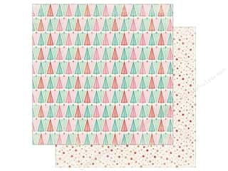 Authentique Collection Colorful Christmas Paper 12 in. x 12 in. Seven (25 pieces)