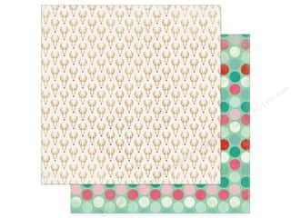 "Authentique Collection Colorful Christmas Paper 12""x 12"" One (25 pieces)"