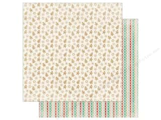 "scrapbooking & paper crafts: Authentique Collection Colorful Christmas Paper 12""x 12"" Four (25 pieces)"
