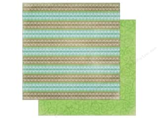 Clearance: Bo Bunny Penelope Paper 12 in. x 12 in. Serene (25 pieces)