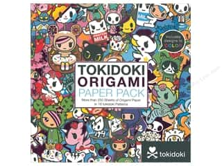 patterned paper : Sterling Origami Paper Pack 6 in. x 6 in. Tokidoki