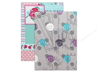 scrapbooking & paper crafts: Tacony Notions Notebook Fabric Covered Medium Assorted