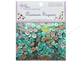 beading & jewelry making supplies: Buttons Galore 28 Lilac Lane Premium Sequins Shells & Sand