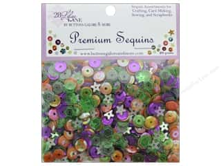 Buttons Galore 28 Lilac Lane Premium Sequins Spooky Fun