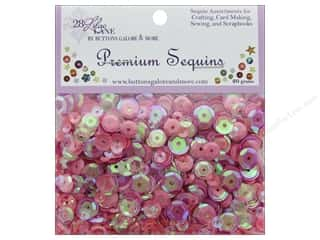 Buttons Galore 28 Lilac Lane Premium Sequins Pretty Pinks