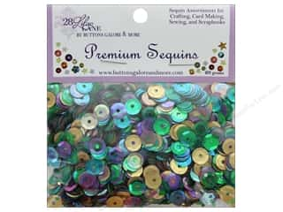 beading & jewelry making supplies: Buttons Galore 28 Lilac Lane Premium Sequins French Quarter