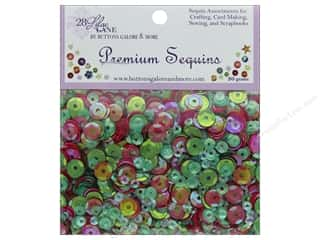 Clearance: Buttons Galore 28 Lilac Lane Premium Sequins Deck The Halls