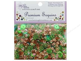 beading & jewelry making supplies: Buttons Galore 28 Lilac Lane Premium Sequins Summer Garden