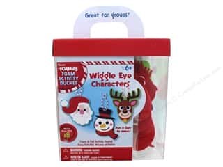 Darice Foamies Activity Bucket Wiggle Eye Characters