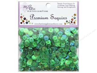 Buttons Galore 28 Lilac Lane Premium Sequins Minty Fresh