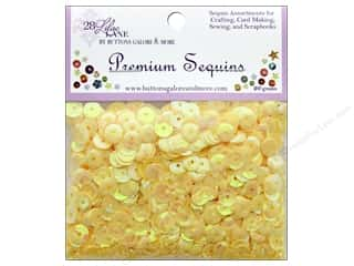 beading & jewelry making supplies: Buttons Galore 28 Lilac Lane Premium Sequins Sunshine