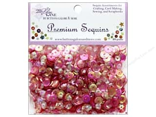Buttons Galore 28 Lilac Lane Premium Sequins Fruity Fun
