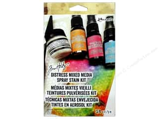 Ranger Tim Holtz Distress Mixed Media Spray Kit 18 pc