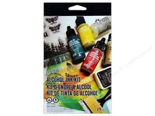 Tim Holtz Alcohol Ink by Ranger: Ranger Tim Holtz Alcohol Ink Kit 29 pc